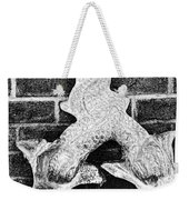 Twisted Fish - Bw Weekender Tote Bag