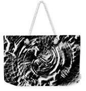 Twisted Gears Abstract Weekender Tote Bag
