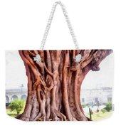 Twisted Gnarled Tree Weekender Tote Bag