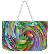 Twisted Rainbow 2 Weekender Tote Bag