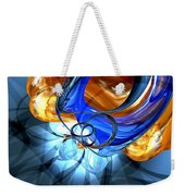 Twisted Spiral Abstract Weekender Tote Bag