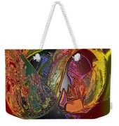 Twisted Wrapped Weekender Tote Bag