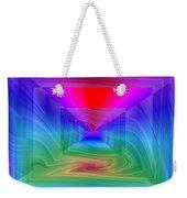 Twister In A Prism Weekender Tote Bag