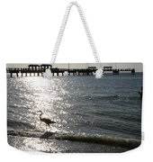 Two Anglers At Fort De Soto Weekender Tote Bag