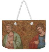 Two Apostles   Fragment Of Predella   Weekender Tote Bag