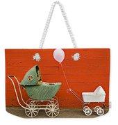 Two Baby Buggies  Weekender Tote Bag