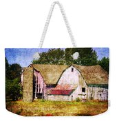 Two Barns And A Silo Weekender Tote Bag