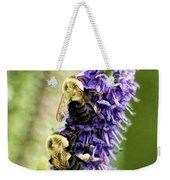 Salvia With Bees Weekender Tote Bag