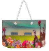 Two Benches Weekender Tote Bag