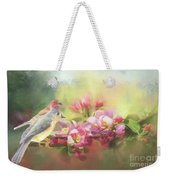 Two Birds Admiring The View Weekender Tote Bag