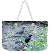 Two Birds Weekender Tote Bag