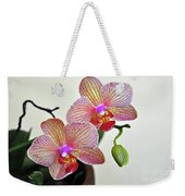Two Blooms For You Weekender Tote Bag