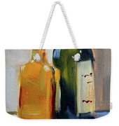 Two Bottles Weekender Tote Bag
