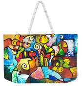 Two Bouquets Weekender Tote Bag