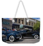 Two Cars Weekender Tote Bag