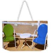 Two Chairs Weekender Tote Bag