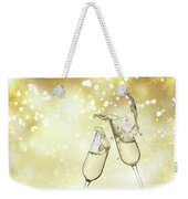 Toast Champagne Glasses Weekender Tote Bag