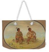 Two Choctaw Indians Weekender Tote Bag
