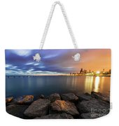 Two-colored Sky During The Sunrise Weekender Tote Bag