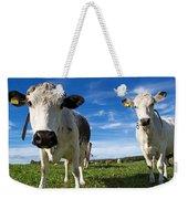 Two Cows Weekender Tote Bag