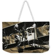 Two Crewmen Amid The Wires And Struts Of An Ilia Mourometz II Bomber Weekender Tote Bag