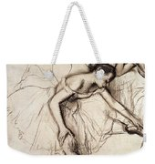Two Dancers Resting Weekender Tote Bag