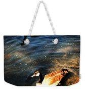 Two Ducks Weekender Tote Bag