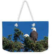 Two Eagles Weekender Tote Bag