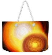 Two Fire-colored Stars Weekender Tote Bag