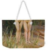 Two Friends  Weekender Tote Bag by Anders Leonard Zorn