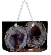 Two Geodes Weekender Tote Bag