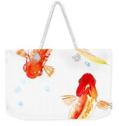 Two Goldfish Feng Shui Weekender Tote Bag