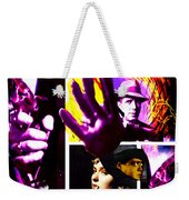 Two Guys Two Guns And A Dame Weekender Tote Bag