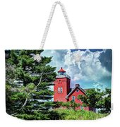 Two Harbors Lighthouse Weekender Tote Bag