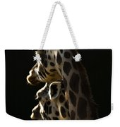 Two Headed Giraffe Weekender Tote Bag