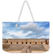 Two Headed Statue And Governors Palace Weekender Tote Bag