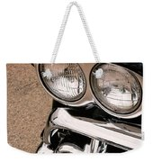 Two Headlights Weekender Tote Bag