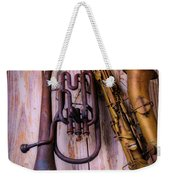 Two Horns Weekender Tote Bag