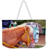 Two Horses Weekender Tote Bag