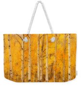 Two Horses In The Autumn Colors Weekender Tote Bag