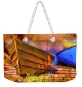 Two Idle Boats Weekender Tote Bag