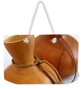Two Ipu On White Weekender Tote Bag