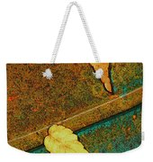 Two Leaves Or Not Two Leaves Weekender Tote Bag