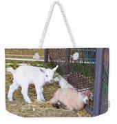 Two Little Goatlings Weekender Tote Bag