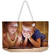 Two Little Kids Weekender Tote Bag