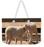 Two Little Lambs. Weekender Tote Bag