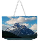 Two Medicine Lake And Rising Wolf Mountain Weekender Tote Bag