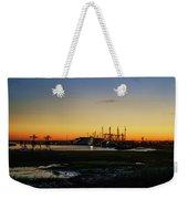 Two Mile Landing At Sunrise - Wildwood Crest New Jersey Weekender Tote Bag