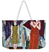 Two Minds In One Weekender Tote Bag