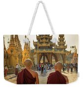 Two Monks Weekender Tote Bag